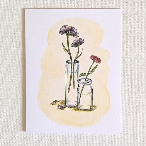 Dainty Wildflowers Card