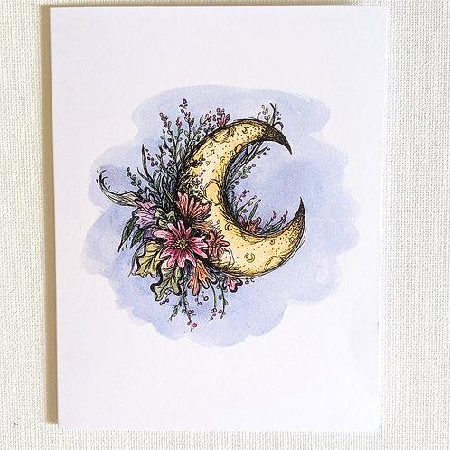 Blue Moon Card
