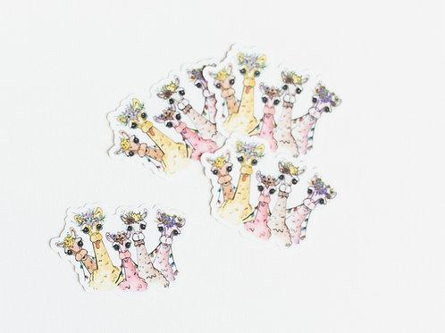 Alpaca Sticker