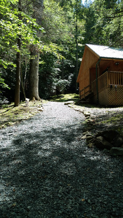 Cabin Path Valle Crucis NC