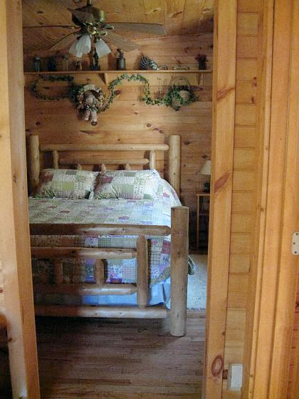 Bedroom cabin