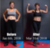 Rock Body Challenge Winner, Fitness Challenge, fat loss, build muscle
