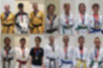Littleton CO Martial Arts, The ROCK Martial Arts & Fitness, ROCK Coloraod State Tournament team, medalists, Team ROCK Training Taekwondo