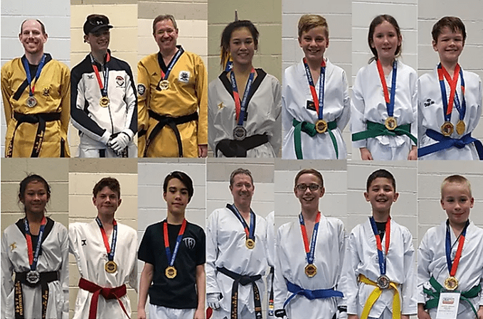 Littleton CO Martial Arts, The ROCK Martial Arts & Fitness, ROCK Coloraod State Tournament team, medalists, Team ROCK Training Taekwondo