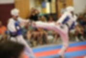 Littleton CO Martial Arts, The ROCK Martial Arts & Fitness, Taekwondo Olympic Sparring Boys