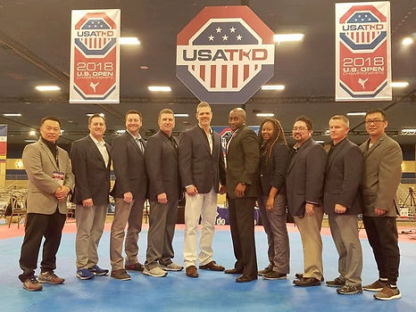 Littleton CO Martial Arts, The ROCK Martial Arts & Fitness, Next Level Coaches, 2018 U.S. Open, Olympic Taekwondo sparring