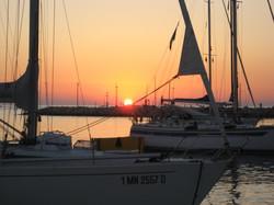 Sunset on Premuda Island - Croazia