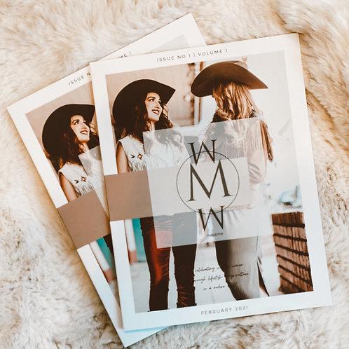 Modern Western Women Magazine (printed)