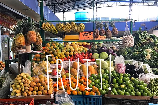 Fruit in Bogotá