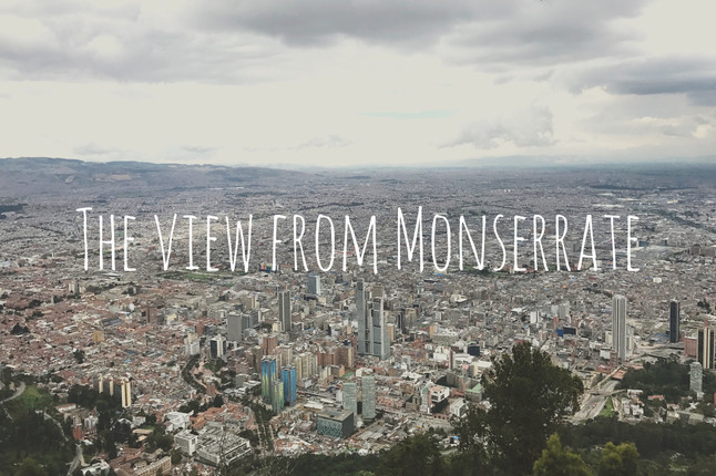 45 Minutes of Stairs to the Best View in Bogotá