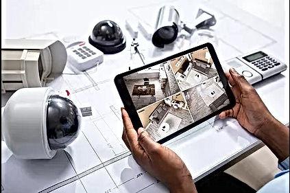 security camera installation service in