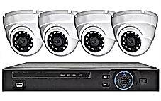 4 Eye Ball Style Cameras - Abstract Enterprises Security.jpg