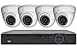 4 Eye Ball Style Cameras - Abstract Ente