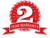 2-year-warranty on all of our security system packages