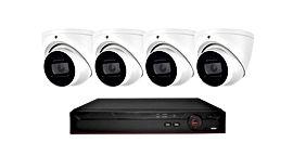 4  Eye Ball  Style Cameras - 8 MP - Abst