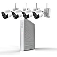 4 Bullet Style Cameras - Abstract Enterp