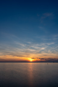 Big Lake Sunset