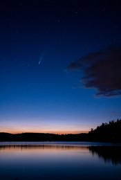 Neowise Comet Over Echo Lake