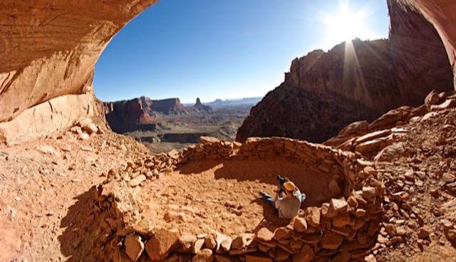 False Kiva Moab Utah