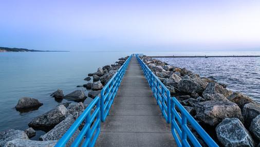 Blue Pier Perspective
