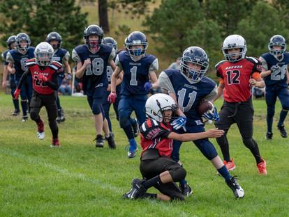 Football - Run