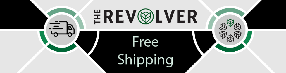 REVOLVER Free Shipping Banner