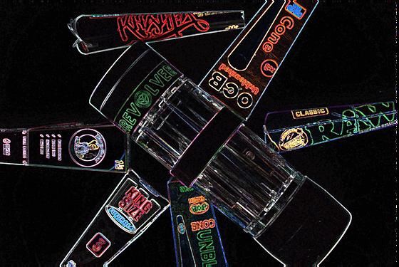 REVOLVER + Cones - black and neon.png