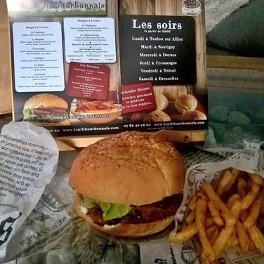 photo burger et flyers