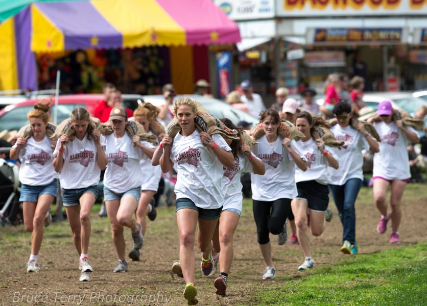 LADIES POTATO RACE