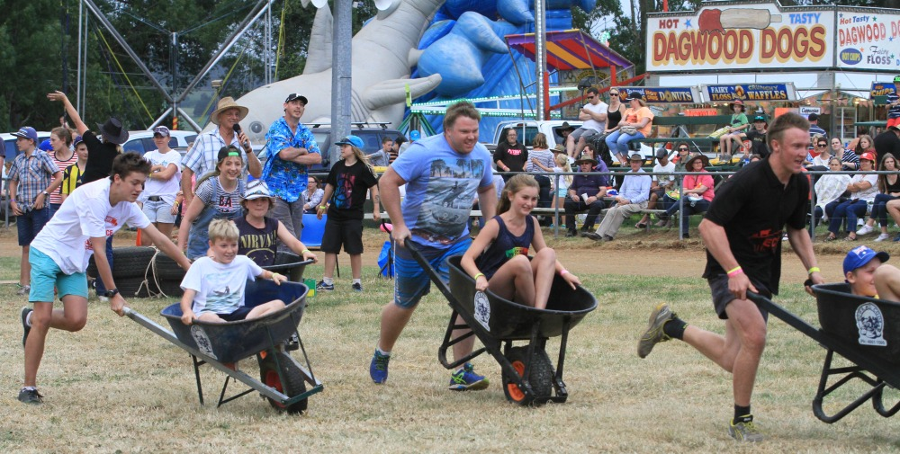 WHEELBARROW RACES