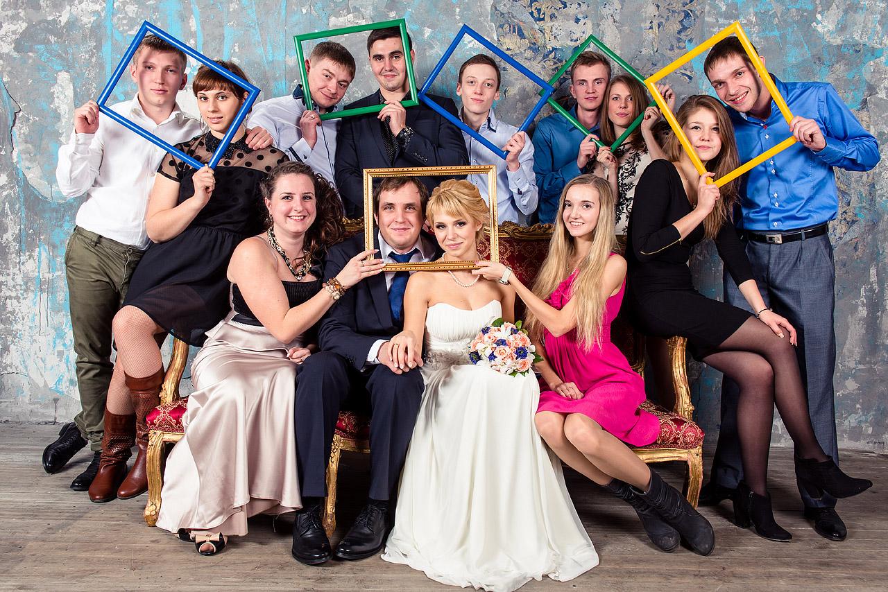 свадебное фото студия