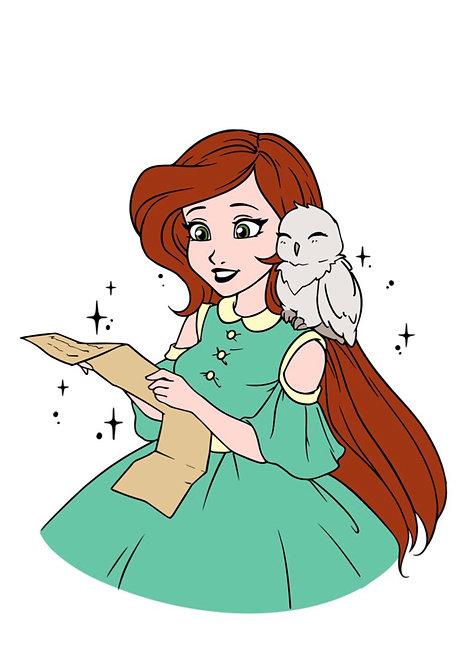 Чарівниця з поштою