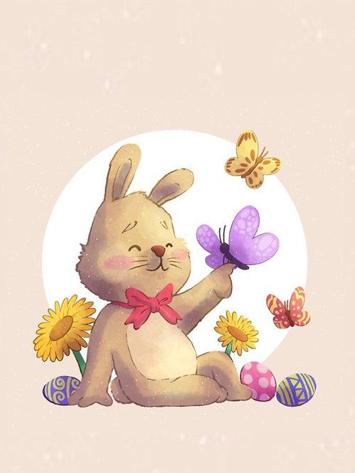 Кролик і метелик