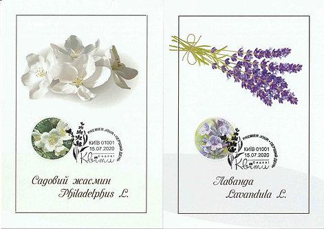КМ. Садові квіти. Набір 2 шт