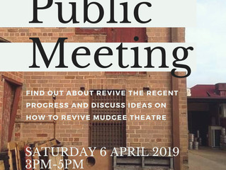 Public Meeting - 6 April 2019
