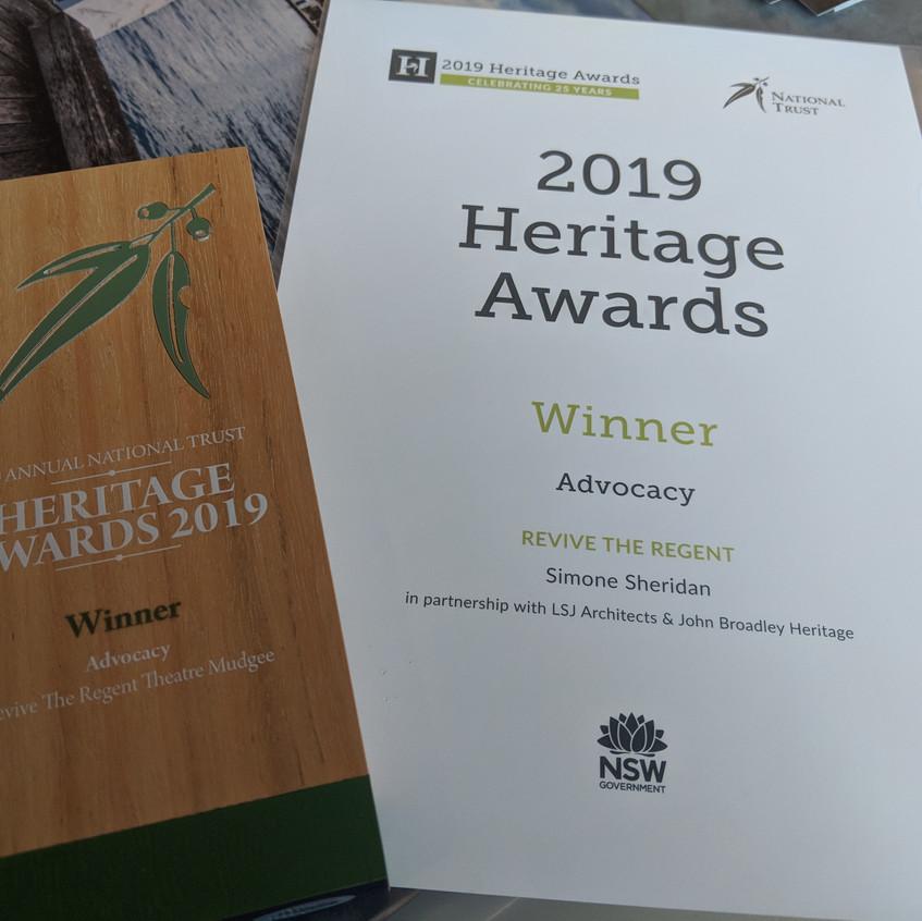 National Trust Heritage Awards 2019