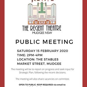 Public Meeting - 15 Feb 2020