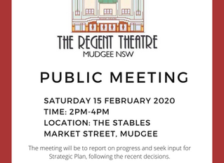 Public Meeting - 15 Feb 2020