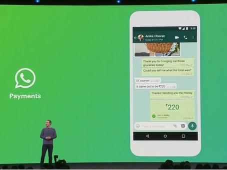 Zuckerberg anuncia pagamentos através do WhatsApp para brasileiros