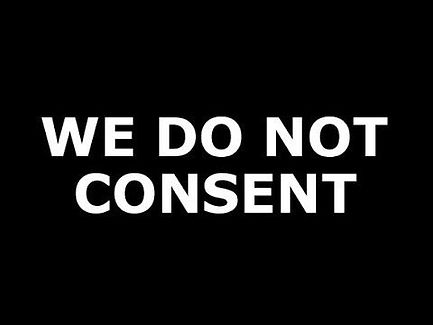 We Do NOT Consent Time is Running OUT.jp
