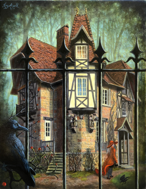 Maison aux sorcières