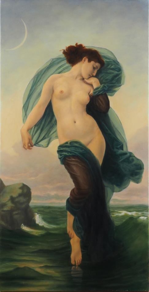 """""""Le soir"""", d'après William Bouguereau"""