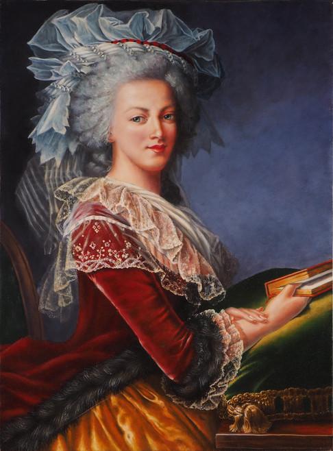 """""""Marie-Antoinette"""", d'après Elizabeth Vigée-Lebrun"""