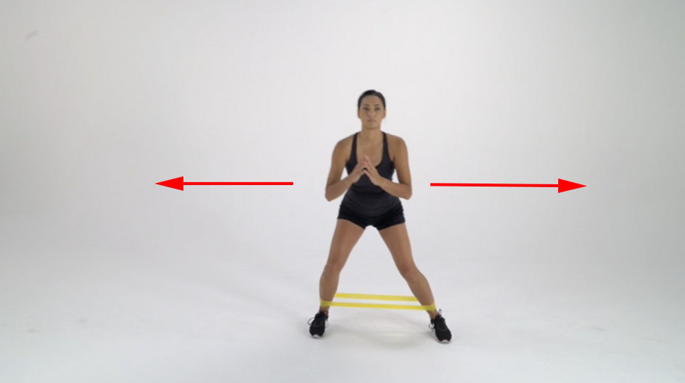 Lateral steps