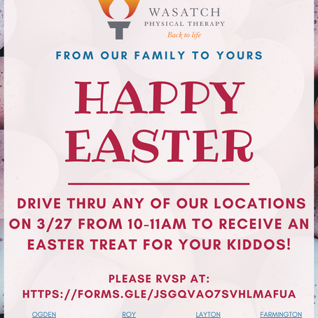 Easter Egg Drive Thru 3/27 10-11AM