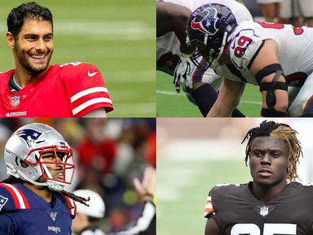 Top 10 Potential NFL Cap Casualties