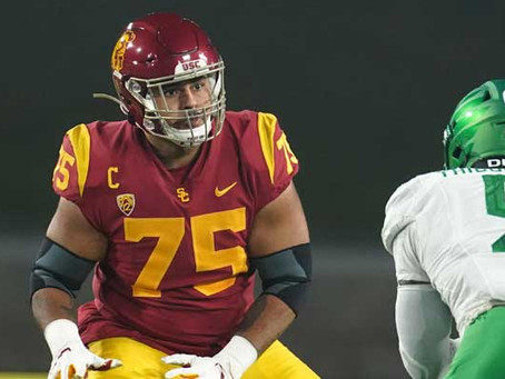 Top 10 Interior Offensive Line Prospects for 2021 NFL Draft