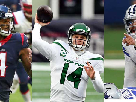 After Stafford-Goff Trade, What's Next for NFL's QB Carousel?