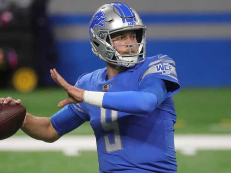 The Detroit Lions Have an Easy Decision When It Comes to Matthew Stafford