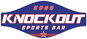 knockout sports bar logo - social sharks marketing